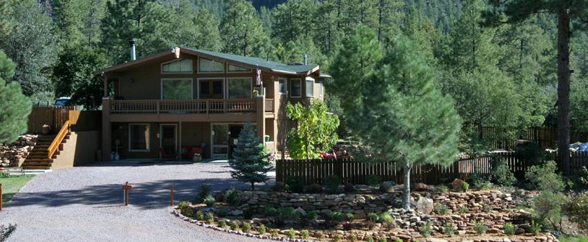 Family Vacation Cabin Rental Pine AZ by Cabins On Strawberry Hill