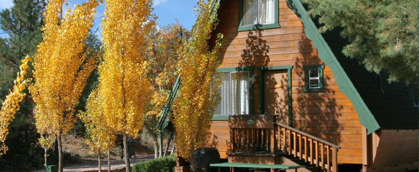 Cabins On Strawberry Hill Offers Large Cabin Rentals Near Flagstaff AZ