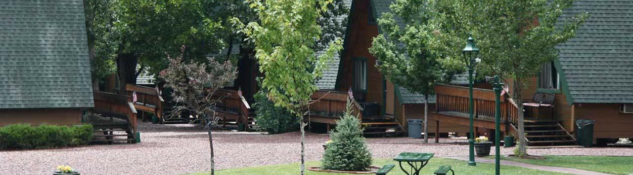 Arizona Cabin Rentals and Resort Lodging at Cabins on